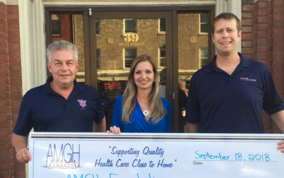 Maitland Lodge kicks off AMGH Foundation Radiothon Campaign