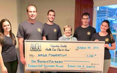 Rotaract Provides Support to the AMGH Foundation